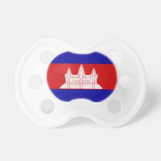 カンボジアの旗のBooginheadの調停者 おしゃぶり