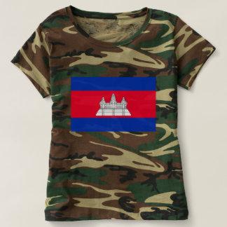 カンボジアの旗-カンボジアの旗 Tシャツ