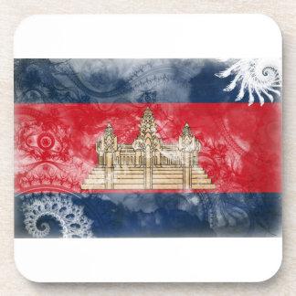カンボジアの旗 コースター
