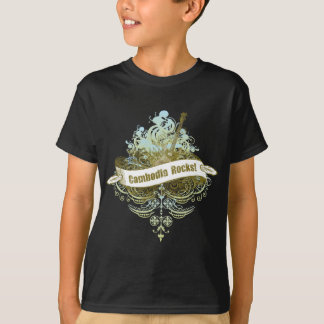 カンボジアの石 Tシャツ