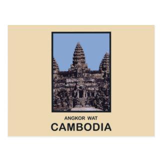 カンボジアアンコール・ワット ポストカード