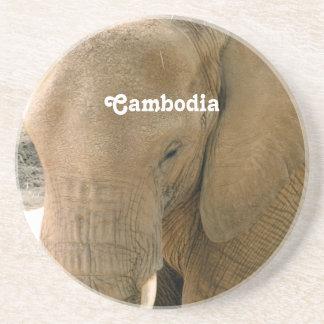 カンボジア象 コースター