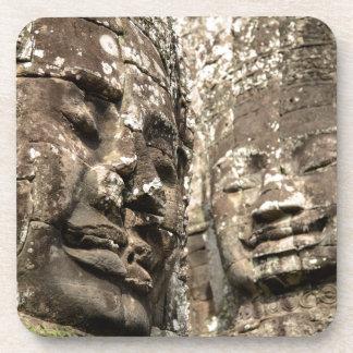 カンボジア、アンコール・ワット。 アンコール・トム、Bayon コースター