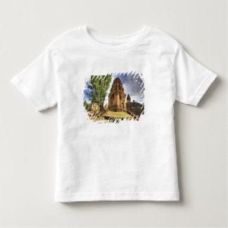 カンボジア、アンコール・ワット。 Bakongの寺院の眺め トドラーTシャツ