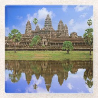 カンボジア、Kampuchea、アンコール・ワットの寺院 ガラスコースター