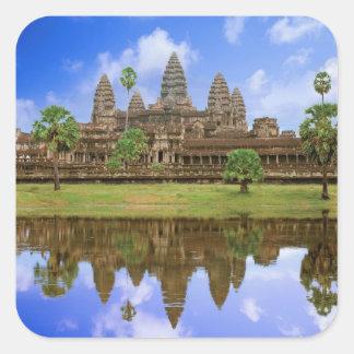 カンボジア、Kampuchea、アンコール・ワットの寺院 スクエアシール