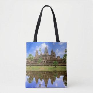 カンボジア、Kampuchea、アンコール・ワットの寺院 トートバッグ