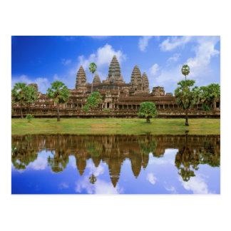 カンボジア、Kampuchea、アンコール・ワットの寺院 ポストカード