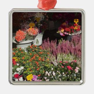 カンポのdeの販売のために表示される花 メタルオーナメント