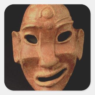 カーセッジからのNegroidマスク、紀元前の第7第6世紀(te スクエアシール