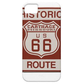 カーセッジのルート66 iPhone SE/5/5s ケース