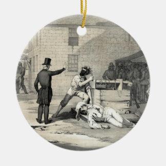 カーセッジの刑務所のヨセフ及びHiramスミスの殉教 セラミックオーナメント