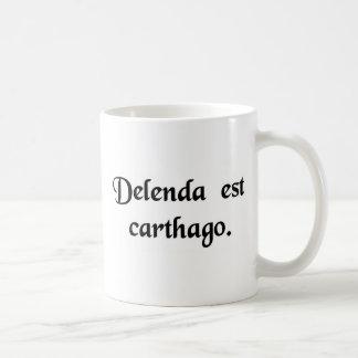 カーセッジは破壊されなければなりません コーヒーマグカップ