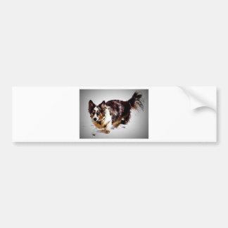 カーディガンのウェルシュコーギー- Maggie バンパーステッカー
