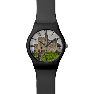 カーディフのノルマン製の中世城、ウェールズ 腕時計