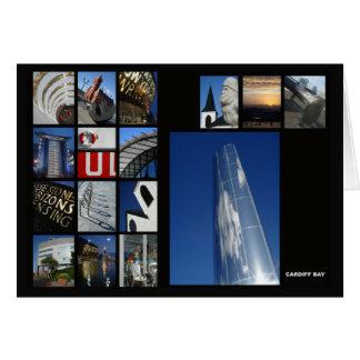 カーディフ湾の数々のイメージカード グリーティングカード