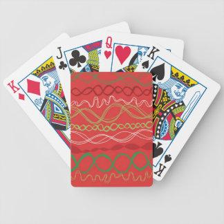カードさくらんぼのリボンの繰り返しを遊ぶこと! バイスクルトランプ