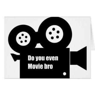 """カードは""""します映画bro """" カード"""