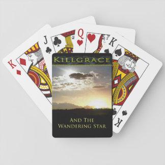 カードを遊ぶさまよう星カバー トランプ