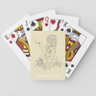 カードを遊ぶずたずたに裂かれた願い トランプ