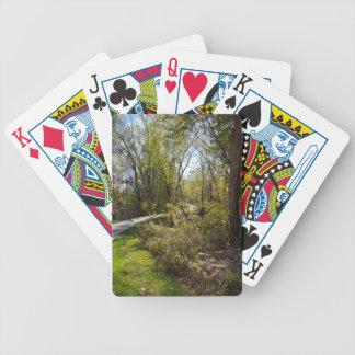カードを遊ぶアイオワの写真の自転車のブランドのバイク道 バイスクルトランプ