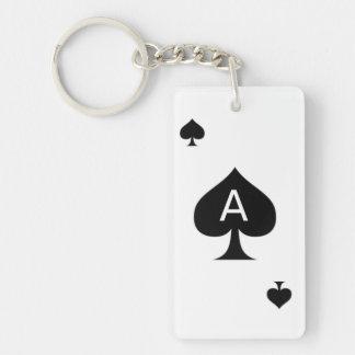 カードを遊ぶエース キーホルダー