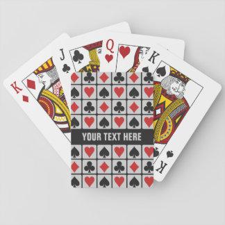 カードを遊ぶカードプレーヤーの習慣 トランプ