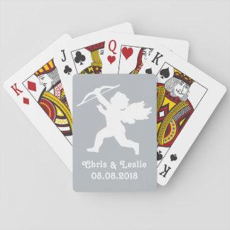 カードを遊ぶキューピッドカスタムな文字及び色 トランプ