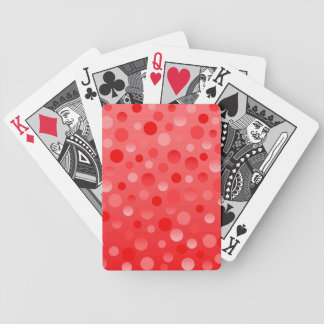 カードを遊ぶクランベリーのフィズ バイスクルトランプ