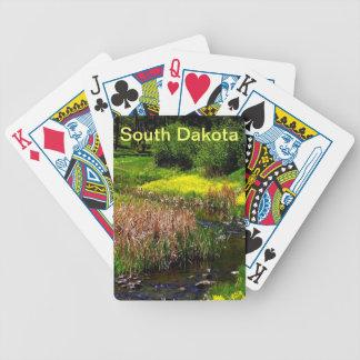 カードを遊ぶサウスダコタ バイスクルトランプ