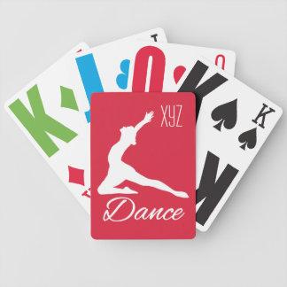 カードを遊ぶダンスカスタムなモノグラム及び色 バイスクルトランプ