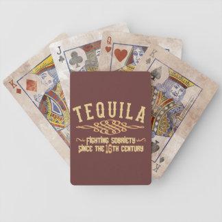 カードを遊ぶテキーラ バイスクルトランプ