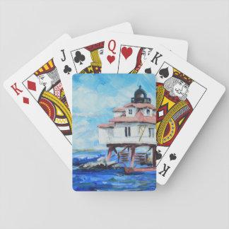 カードを遊ぶトマスポイント灯台 トランプ