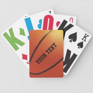 カードを遊ぶバスケットボールのカスタム バイスクルトランプ