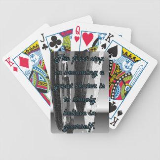 カードを遊ぶフィギュアスケート バイスクルトランプ