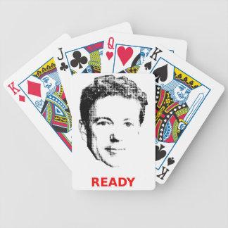 カードを遊ぶランドの用意して下さい バイスクルトランプ