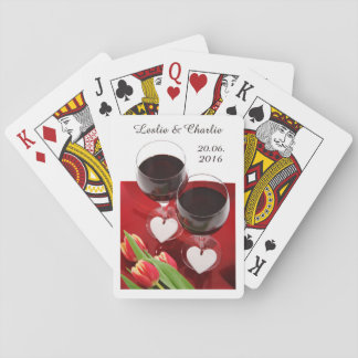 カードを遊ぶワイン愛好家の習慣 トランプ