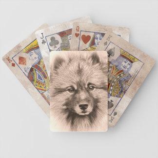 カードを遊ぶヴィンテージのスタイルの報酬 バイスクルトランプ