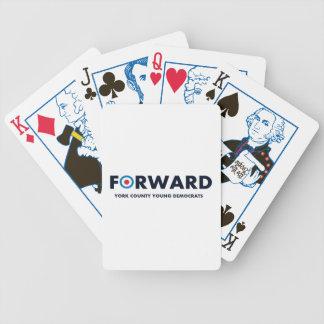 カードを遊ぶ前方選挙 バイスクルトランプ