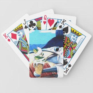 カードを遊ぶ夏の味 バイスクルトランプ