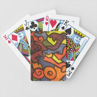 カードを遊ぶ多彩な芸術 バイスクルトランプ