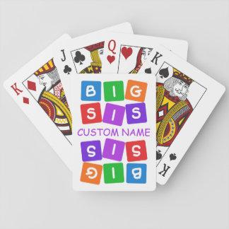 カードを遊ぶ大きいSisのカスタム トランプ