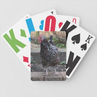 カードを遊ぶ大活字のデッキ バイスクルトランプ