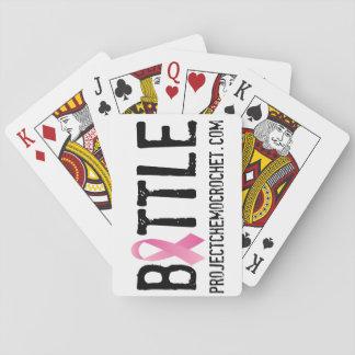 カードを遊ぶ戦いのロゴ トランプ