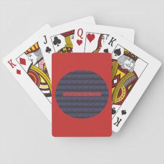 カードを遊ぶ操作のサンタの爪 トランプ