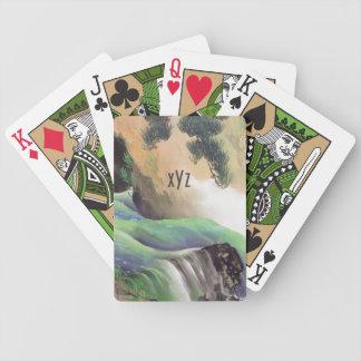 カードを遊ぶ日本のな芸術のカスタムなモノグラム バイスクルトランプ