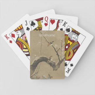 カードを遊ぶ日本のな芸術の習慣 トランプ