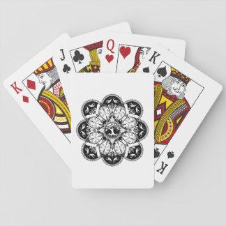 カードを遊ぶ木の曼荼羅 トランプ