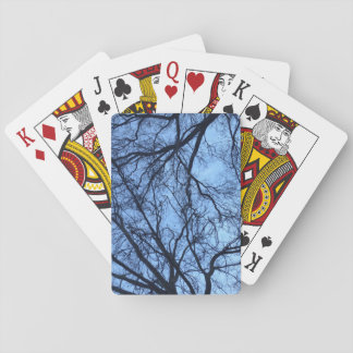 カードを遊ぶ木 トランプ
