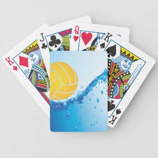 カードを遊ぶ水球 バイスクルトランプ